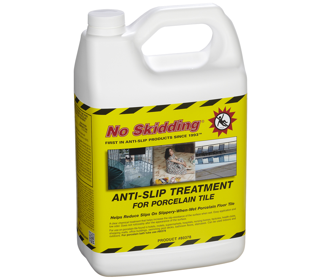 No Skidding Porcelain Anti Slip Treatment 80378 No Skidding